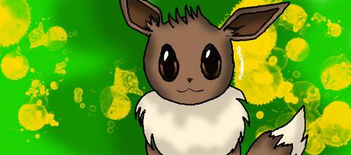 Eevee with background