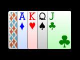 Hoyle 4 color card deck