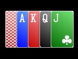 Complex 4c Border card deck