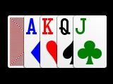 Big Suit 4c card deck