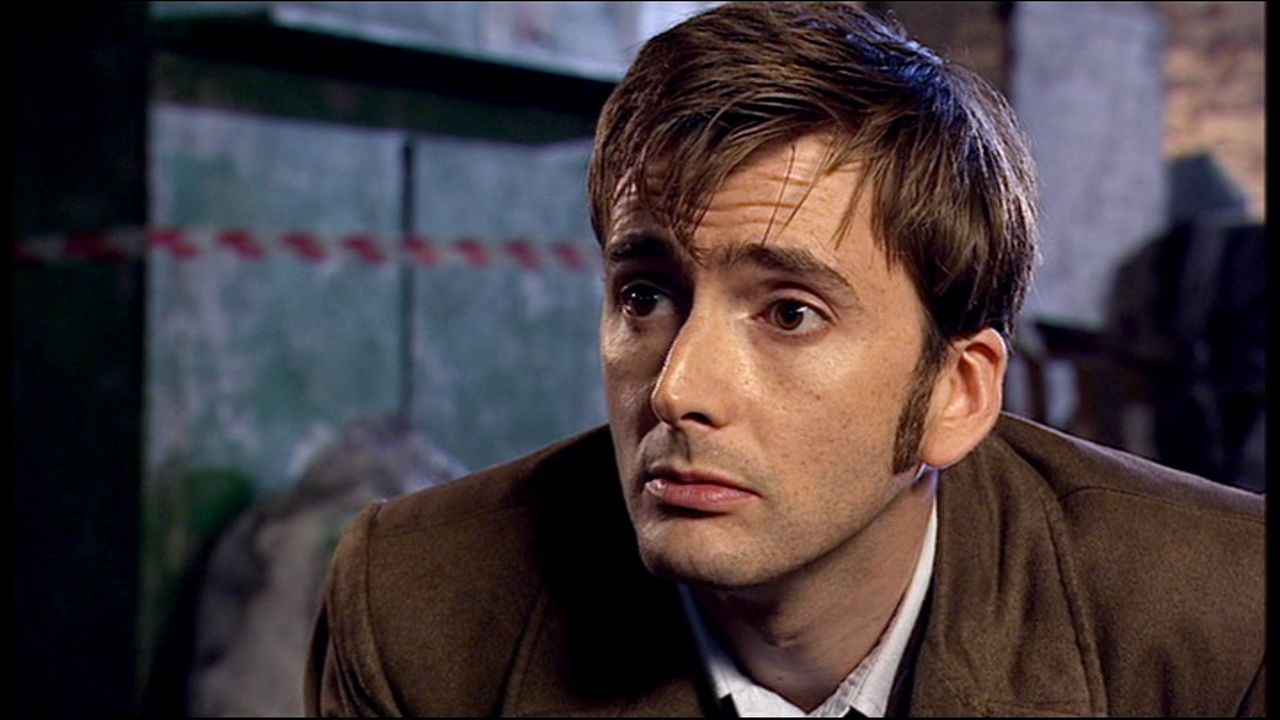 Tenth Doctor Smiling Tenth Doctor x Reader on