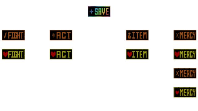 Save Button Undertale
