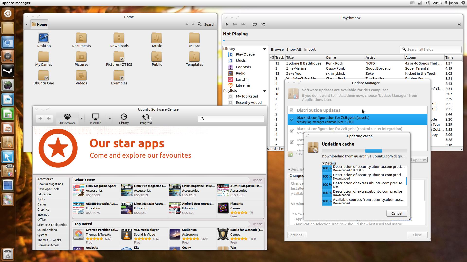 Preobleka Ubuntu