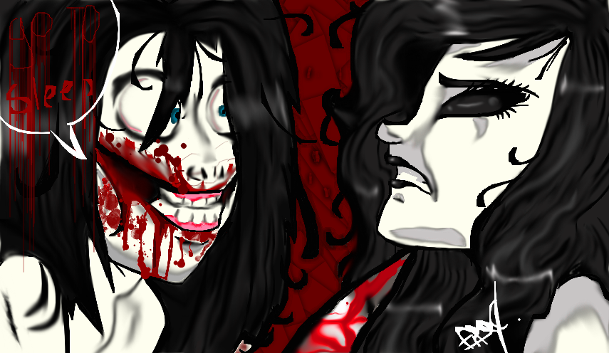 Jeff The Killer Vs. Jane The Killer Fan Art by Creefi2002 ...