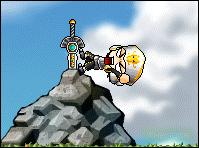 MapleStory: Sword in a Stone by ScytheG