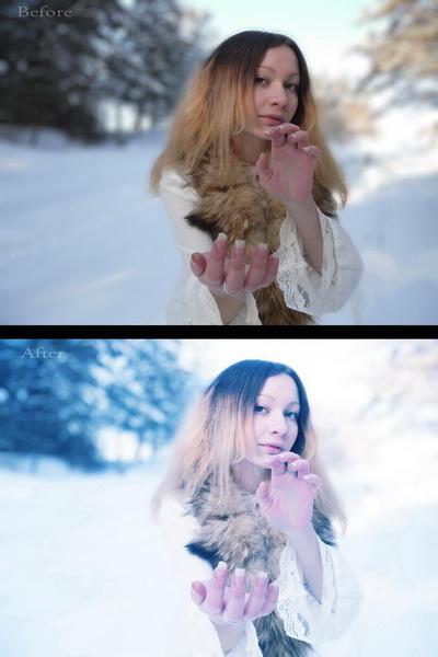Winter Action by Juliana-Mierzejewska