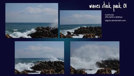 Wave stock pack 01 Olgola by Olgola
