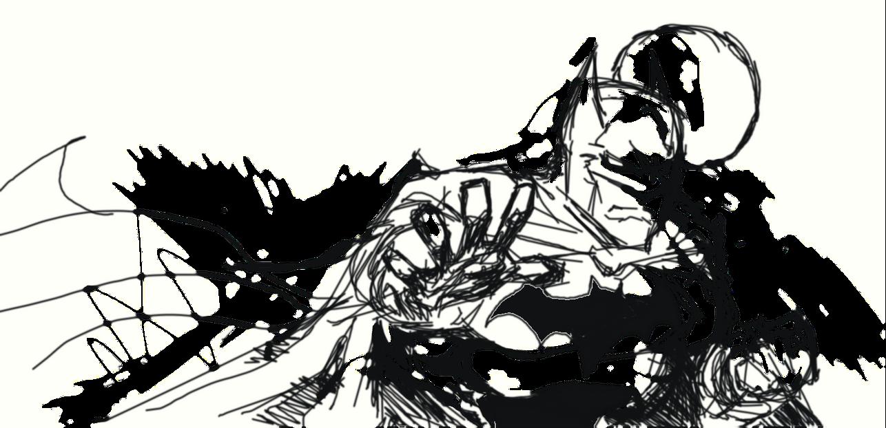 Batman 3rd damuro by Ratcrack