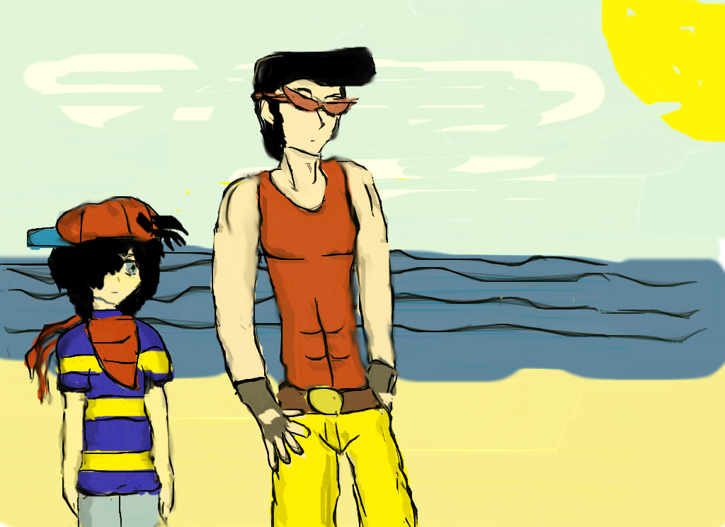 Mother 1 Characters by zoneaw15 on DeviantArt