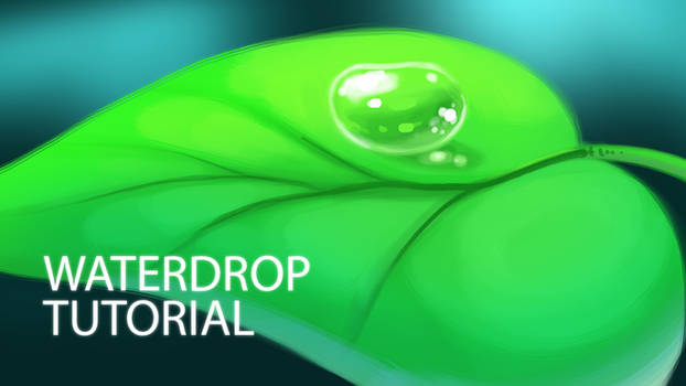 How to Digitally Paint a Waterdrop