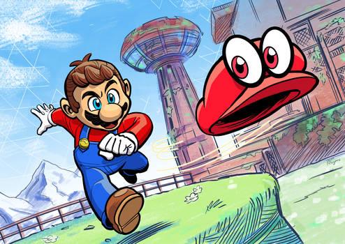 Makin' a-Mario! (timelapse GIF)
