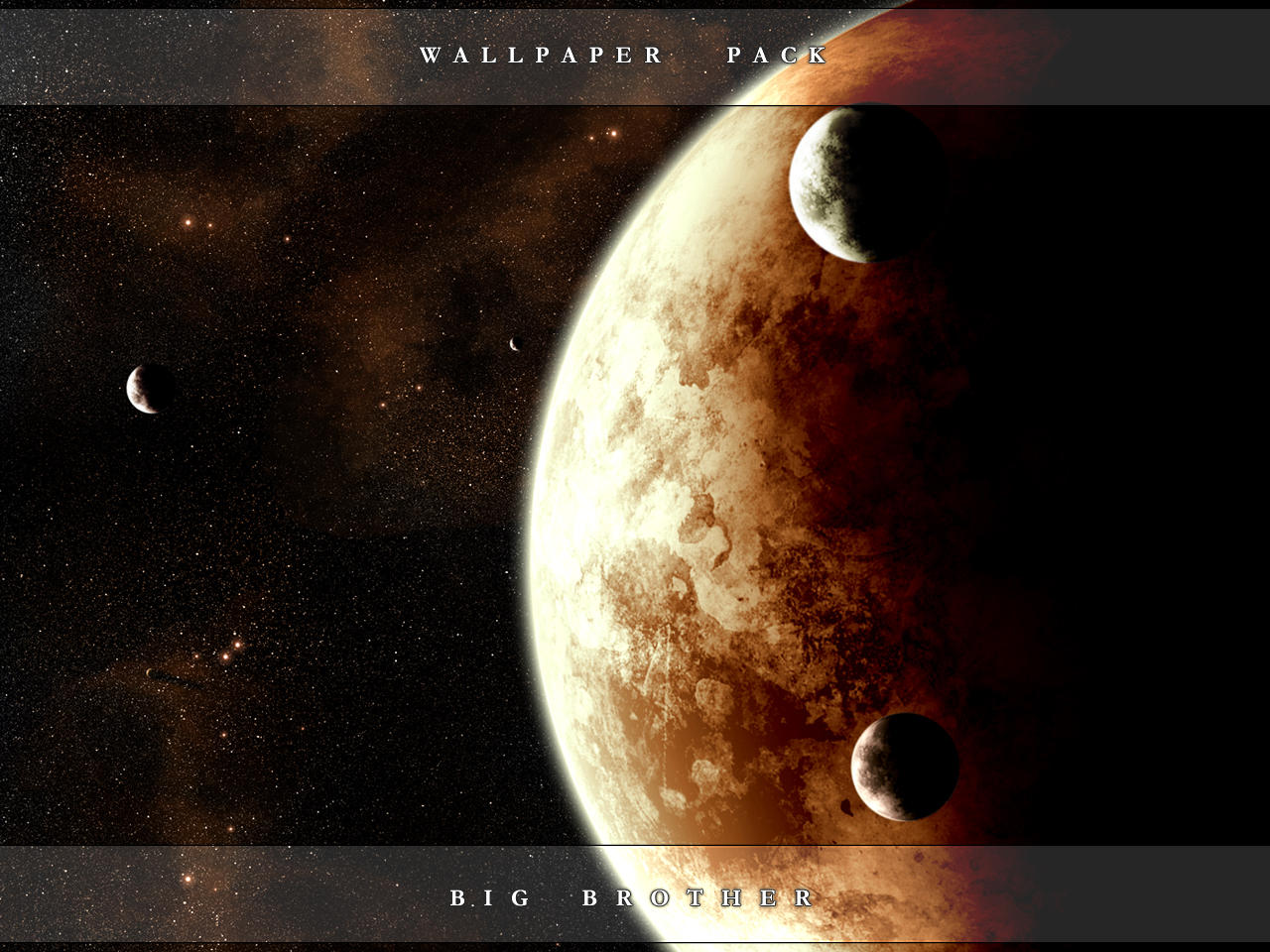 Wallpaper Pack :: Big Brother by tibro