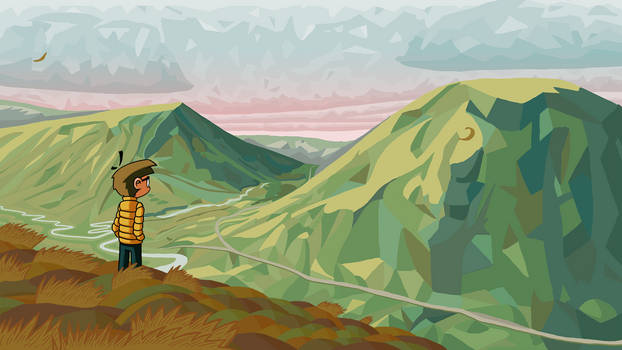 Scottish Highlands - Animated