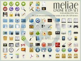 Meliae SVG Icon Theme v. 1.2 by sora-meliae