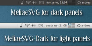 Meliae SVG-Dark v. 1.2