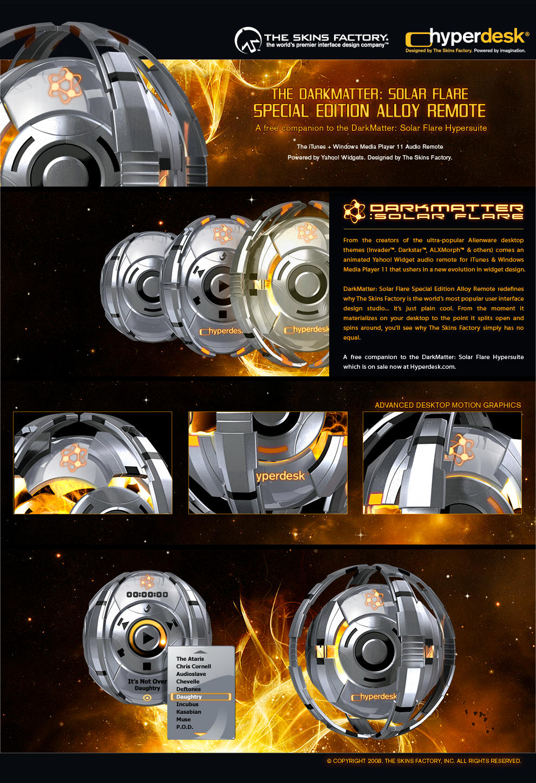 DarkMatter: Solar Flare SE by skinsfactory