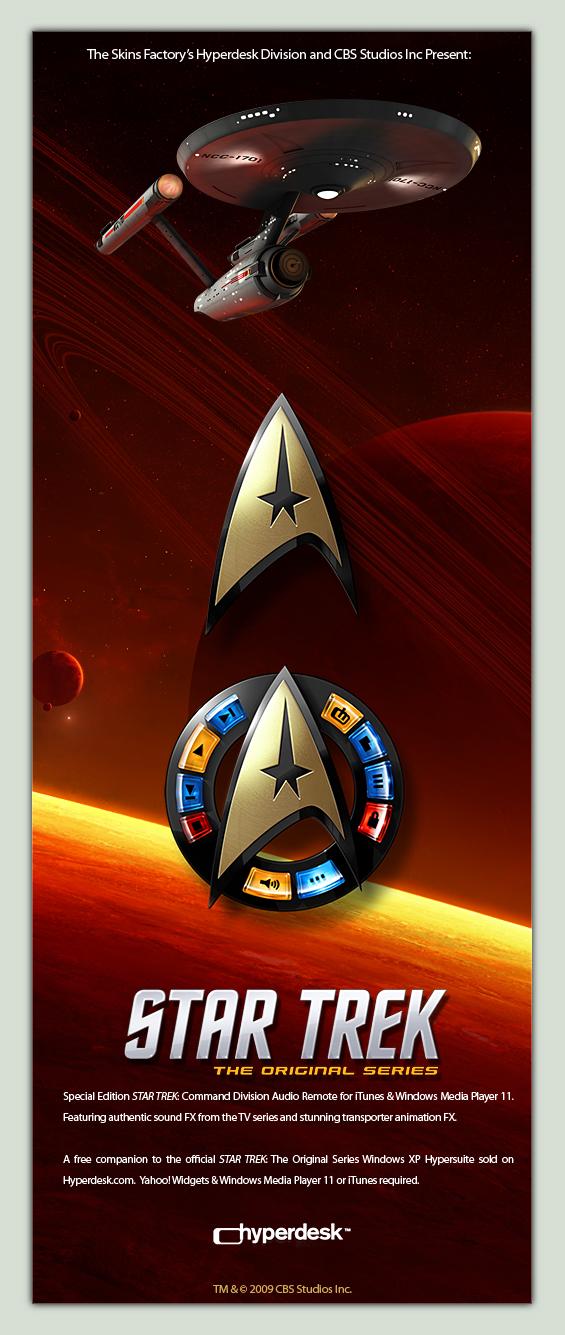 STAR TREK SE Audio Remote