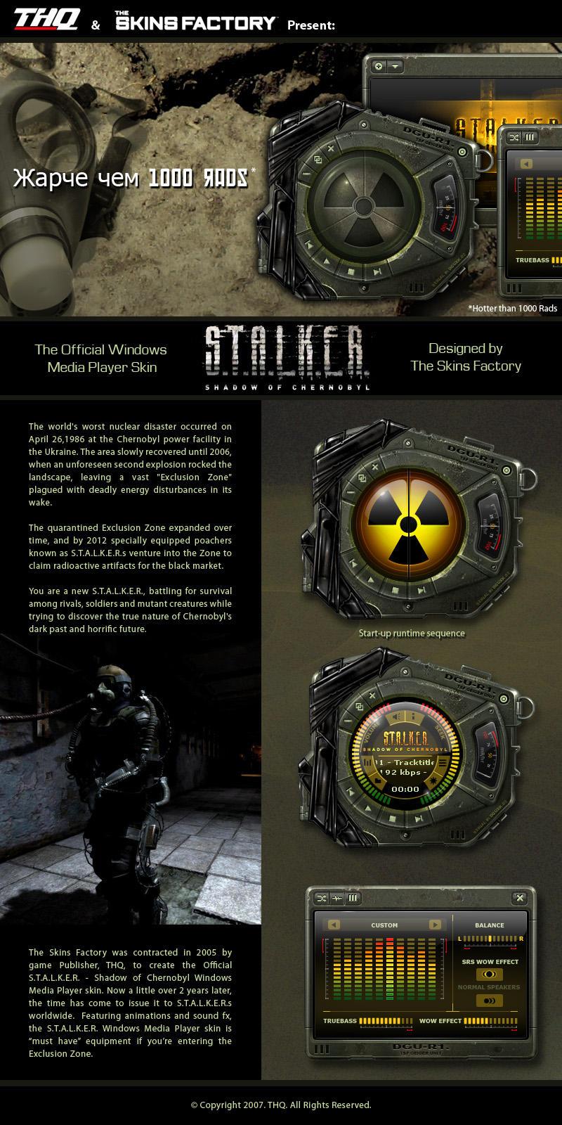 S.T.A.L.K.E.R. by skinsfactory
