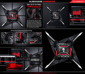 Alienware Darkstar by skinsfactory