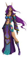 Commission - The Violet Mage