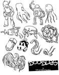 doodles vector pack