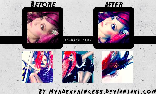 III. - Shining Pink Action by Mvrderprincess