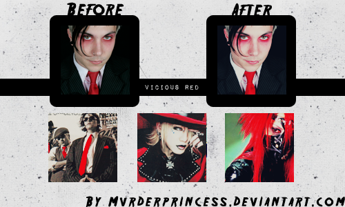 IV. Vicious Red Action by Mvrderprincess