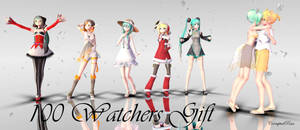 (100 Watchers Gift) 'A Variety' Pose Download Pack by CorruptedDestiny