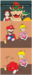 Why, Bowser, why? by Jewuo