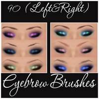 EyeBrow Brushes by Marielena