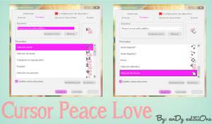 Cursor Peace Love