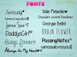 Fonts!