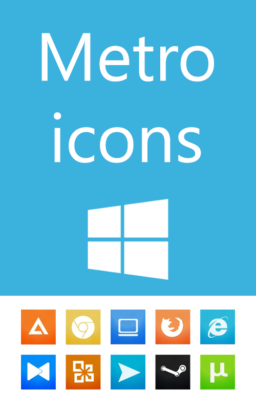 My metro icons by mrvadym