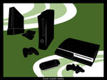 Console Gaming Shapes