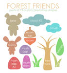 Forest Friends By Maytel