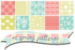 Spring patterns by maytel