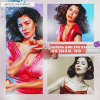 -Photopack Marina and The Diamonds by SomeoneInTheForest
