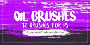 Oil Brushes//Photoshop