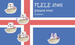 Iceland Kitty FLELE shell