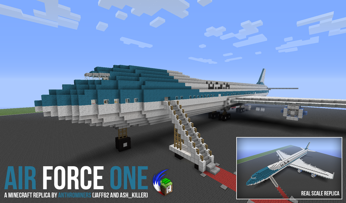 смотреть майнкрафт с самолётами #2