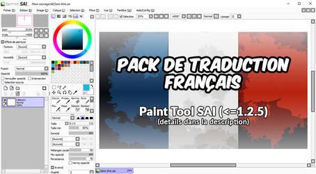 PaintTool SAI - Patch FR