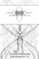 Brushes - Magic 01 by kkako