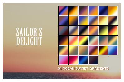 Sailor's Delight Gradient Set by barbarycoast