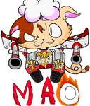 Supersonic Tank Cats - Mao by ghoulhive