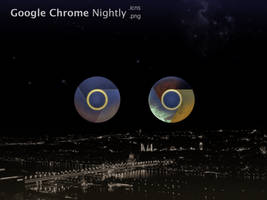 Google Chrome Nightly Icons (Icns, PNG) by niKo36