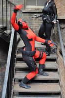Deadpool Dancing by AnnaSCosplay