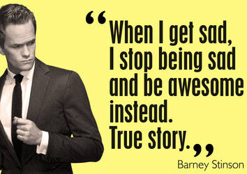 Thumbs Up from Barney