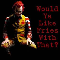 Angry Ronald McDonald
