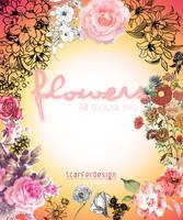 Flowers PNG by scarferdesign