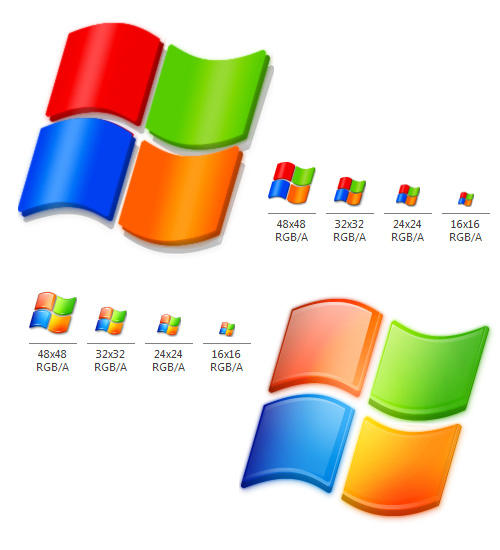 windows system logo icons by seanauicons on deviantart